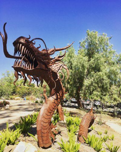 Alta Vista Botanical Gardens Dragon